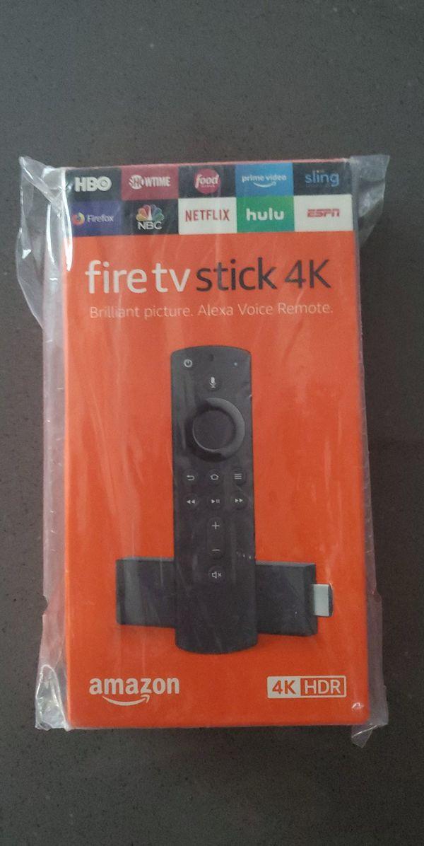 Brand new Fire TV Stick 4k