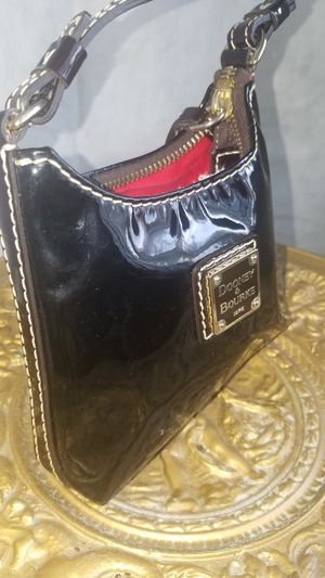 Womens Brown Patent Dooney Bourke Purse for Sale in Detroit, MI
