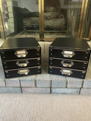 NEW Metal Re-enforced 3-Drawer Office/Craft/Photo Organizer for Sale in Pleasant Hill, CA