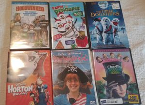 Kids movies $3 a piece for Sale in NC, US