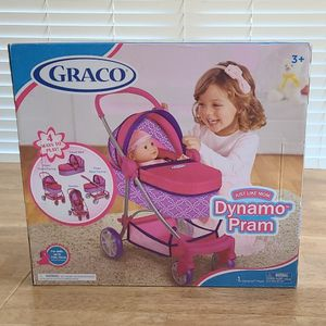 Graco TOY Stroller For Girls - JUST LIKE MOM DYNAMO PRAM for Sale in McKinney, TX