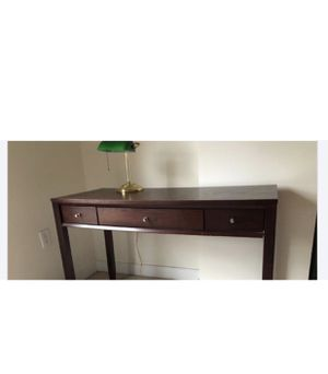 Desk - brown color $50 for Sale in Washington, DC