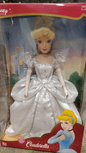 Disney Princess, Cinderella, porcelain doll, 2003 brass keys inc for Sale in Martinez, CA
