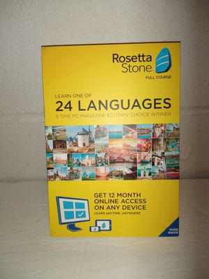Rosetta Stone 24 Languages Learning Kit NEW for Sale in Groveport, OH