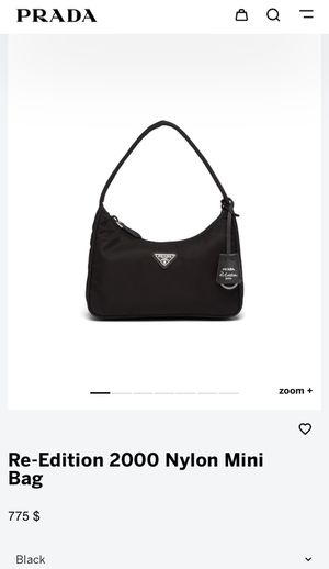 Prada 2000 re-edition shoulder bag for Sale in Los Angeles, CA
