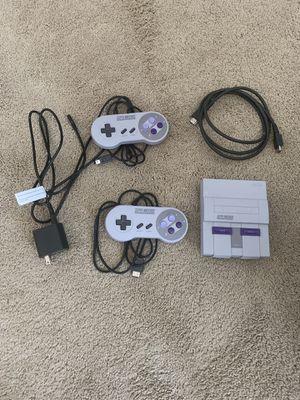 Super Nintendo mini for Sale in Shorewood, IL