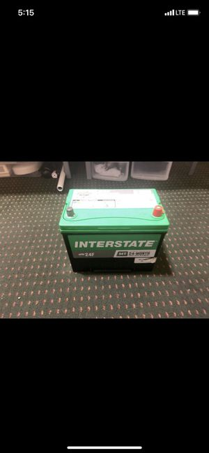 Interstate Battery (MT-24F) for Sale in Dallas, TX