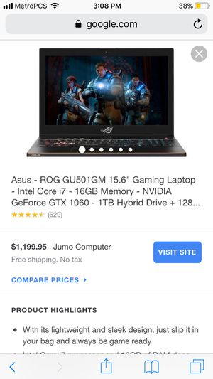 Asus Gaming Computer for Sale in Palm City, FL