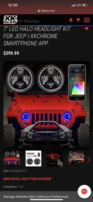 Jeep wrangler parts!! for Sale in Chicago Ridge, IL