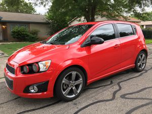 2015 Chevy Sonic RS 1.4 Turbo for Sale in San Antonio, TX