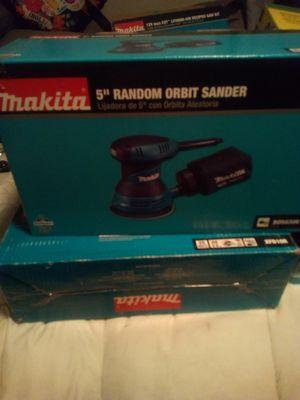 Makita 5-inch random orbit sander for Sale in Long Beach, CA