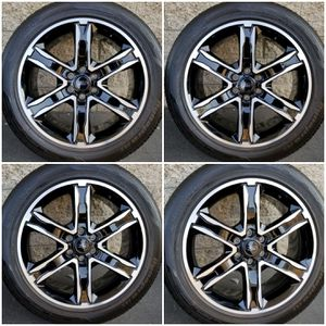 """2020 New Ford 22"""" Expedition Black Factory Wheels Rims Tires for Sale in Los Angeles, CA"""