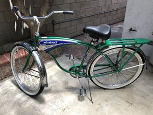 Schwinn Cruiser rolling rock bicycle for Sale in Huntington Beach, CA