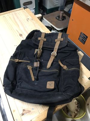 Black Canvas Backpack for Sale in Houston, TX