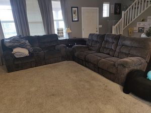Sofas from Ashley Furniture (recliners) for Sale in Manteca, CA