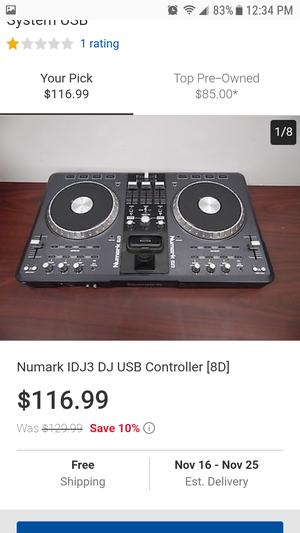 Numark idj3 ...$90 or best offer for Sale in Harrisonburg, VA