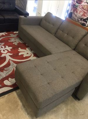 Living room sectional fabric finance available. El Rio furniture 1456 belt line rd Suite 121 garland tx 75044 Open 7 days a week 9:30-8pm Finance a for Sale in Richardson, TX