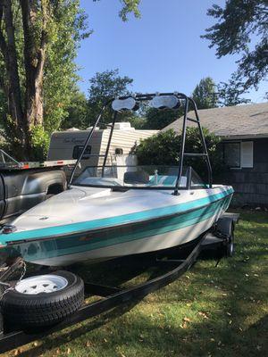1990 blue water ski boat for Sale in Renton, WA