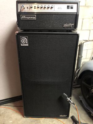 Ampeg Heritage SVT-CL and matching 8x10 for Sale in Azusa, CA