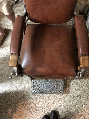 Antique Koken Barber Chair for Sale in Mission Viejo, CA