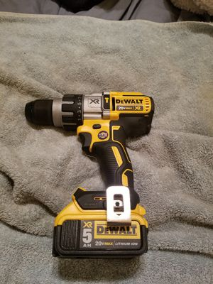 Dewalt 20v xr drill n driver w 5AH batteries and charger for Sale in West Memphis, AR