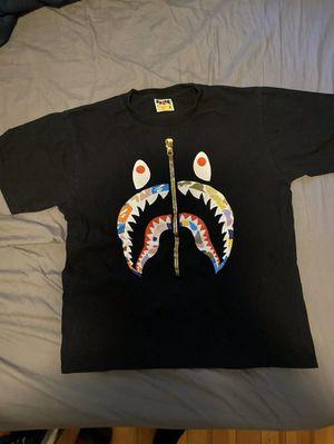 Bape Multi Color Camo T Shirt w/ Receipt for Sale in Central Falls, RI