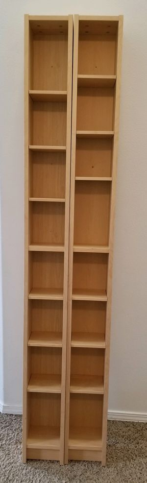 Two IKEA CD/MOVIE storage shelves for Sale in Beaverton, OR