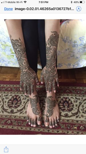 Bridal henna for Sale in Newark, NJ