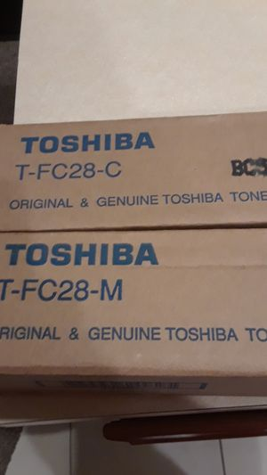 I have two brand new Toshiba toners still in the box for Sale in Stuart, FL