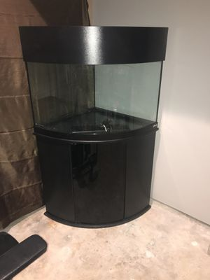 Oceanic aquarium ( corner bow front tank ) for Sale in Houston, TX