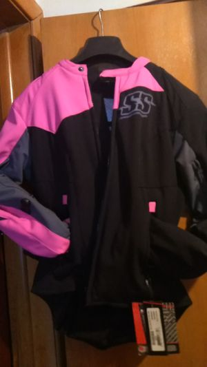 Speed and strength brand female motorcycle jacket. for Sale in Columbus, OH
