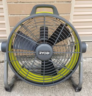 """Ryobi Hyb4id 18"""" Air Cannon Fan Tool Only New for Sale in Irving, TX"""