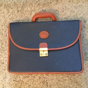 Gorgeous Blue Pebbled Leather Briefcase Messenger Laptop Bag for Sale in Sayville, NY