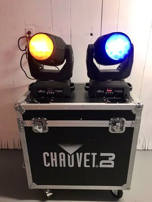 2 Chauvet Intimidator Beam LED 350 with case for Sale in Queens, NY