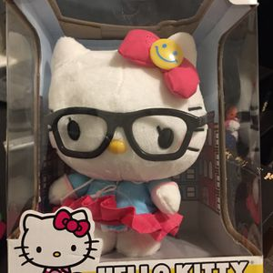 Hello Kitty Poseable Plush with Glasses for Sale in Hempstead, NY