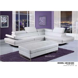Sectional white new in box for Sale in Toms River, NJ