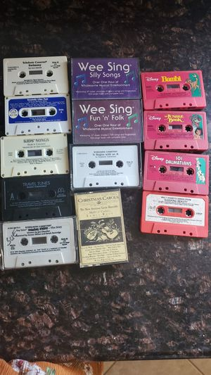 Kid cassette tapes for Sale in San Diego, CA