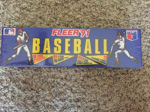 Fleer 1991 baseball cards (unopened) for Sale in Poway, CA