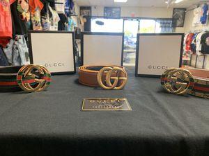Designer belts 1 for 80 or 3 for $100 for Sale in Las Vegas, NV