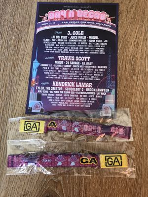 2 Day N Vegas Weekend GA passes for Sale in Los Angeles, CA