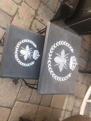 Darling nesting tables - bee motif for Sale in Denver, CO