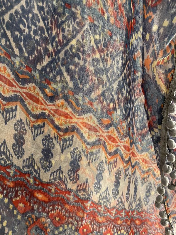 Boho soft coverup cardigan