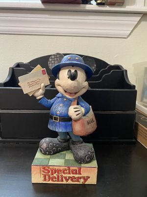 Jim Shore, Disney Traditions Showcase Collection, Mickey Special Delivery, Honorable Professions Collection, Enesco (very good condition. No box) $150 for Sale in Tampa, FL