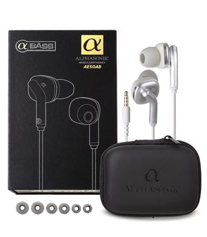 Alphasonik Premium In Ear Noise Isolating Headset Earphones/Earbuds/Headphones with Stereo Microphone & Remote Control Made for Apple iPhone iPad iPo for Sale in Los Angeles, CA