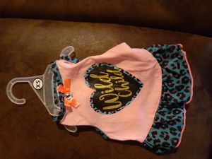 Wild child pink and blue doggie shirt for Sale in Tulsa, OK