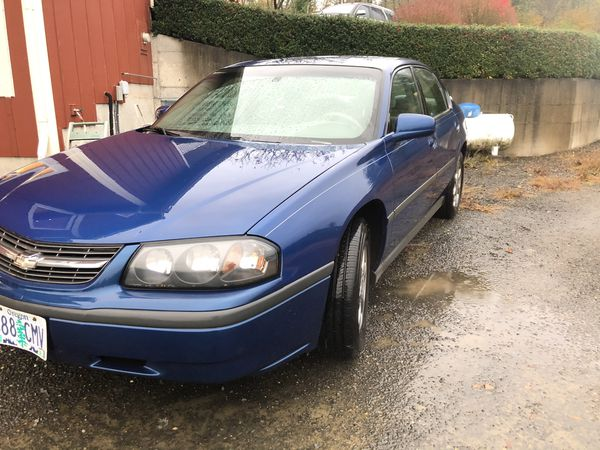 2005 Chevy Impala clean title 142k