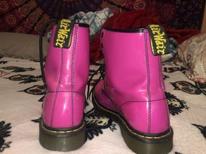 Pink doc martens boots for Sale in Herndon, VA