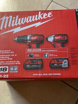 Milwaukee Drill and Impact Driver Set for Sale in Santa Ana,  CA