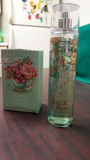 Magic in the air fine fragrance mist + Pink Peony Scented Bar Soap for Sale in St. Petersburg, FL