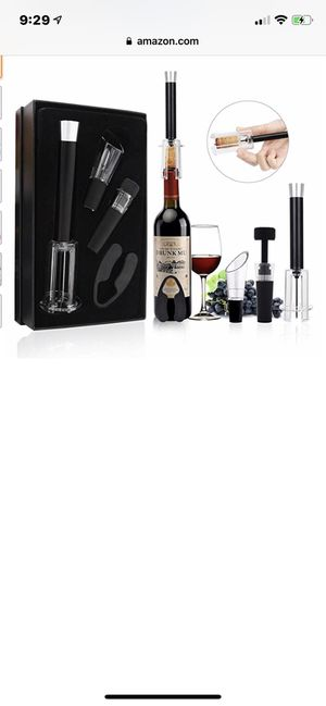 Wine Opener Set Air Pump 4 Pcs for Sale in Gilbert, AZ